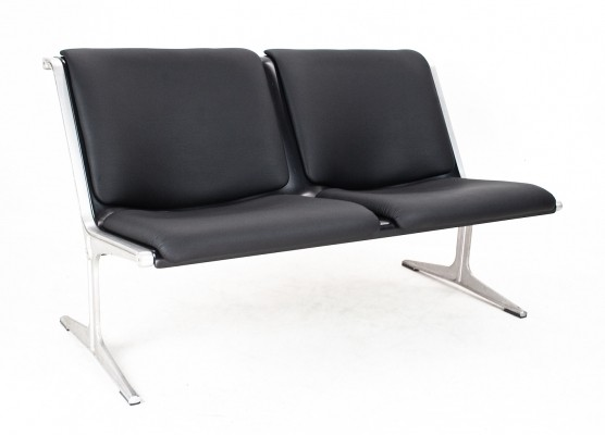 2 x model 1300 bench by Friso Kramer for Wilkhahn, 1960s