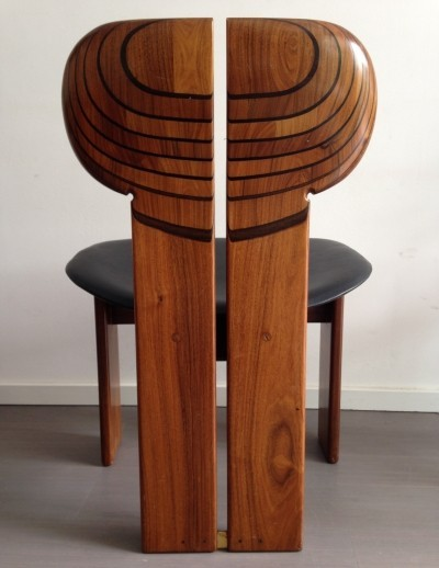2 x Africa dining chair by Tobia Scarpa & Afra Scarpa for Maxalto, 1970s