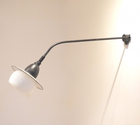 ZAL 30/02 wall lamp from the fifties by unknown designer for Philips