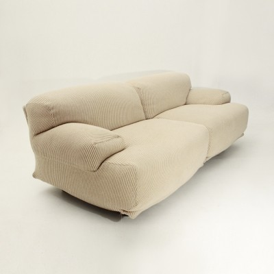 2 Fiandra sofas from the seventies by Vico Magistretti for Cassina