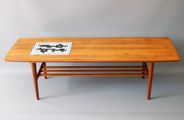 Coffee table by Louis van Teeffelen & Jaap Ravelli for Wébé, 1960s