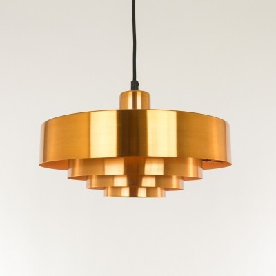 2 Roulet hanging lamps from the sixties by Jo Hammerborg for Fog & Mørup