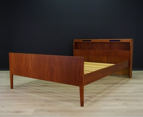 Bed from the seventies by unknown designer for unknown producer