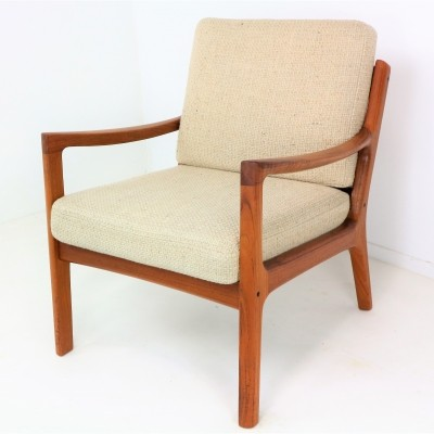 Senator Lounge Chair in Teak by Ole Wanscher, 1960s