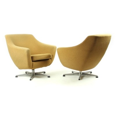 2 x UP Závody lounge chair, 1960s