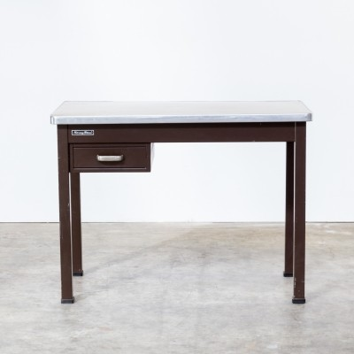 Strong Metal writing desk, 1970s