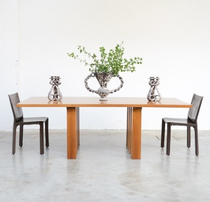 La Basilica 451 Dining Table by Mario Bellini for Cassina