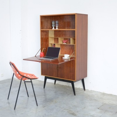 Elegant Writing Cabinet by Alfred Hendrickx for Belform