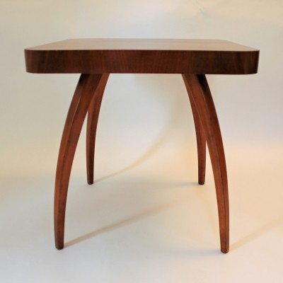 Spider coffee table from the thirties by Jindřich Halabala for Spojene UP Zavody