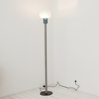 2 x Roll floor lamp by Michele De Lucchi for Bieffeplast, 1980s