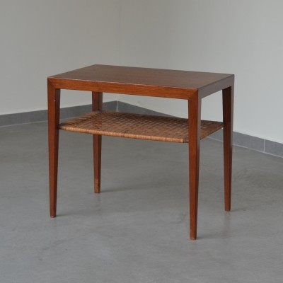 Side table from the fifties by Severin Hansen for Haslev Møbelsnedskeri