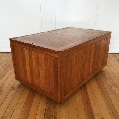 Mid Century Danish Teak Coffee Table / Blanket Box / Kist, 1960s