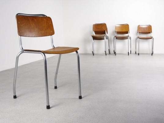 12 x Ahrend de Cirkel dinner chair, 1960s