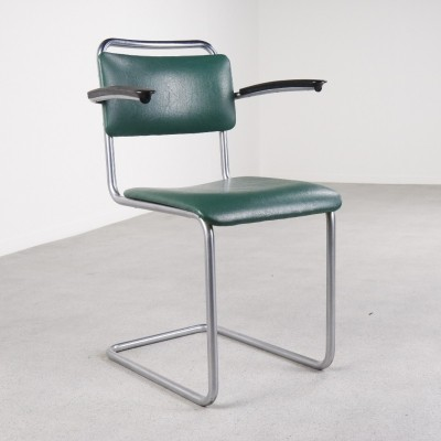 Model 201 dinner chair by W. Gispen for Gispen, 1950s