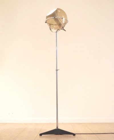 Globe 2000 floor lamp from the fifties by Frank Ligtelijn for Raak Amsterdam
