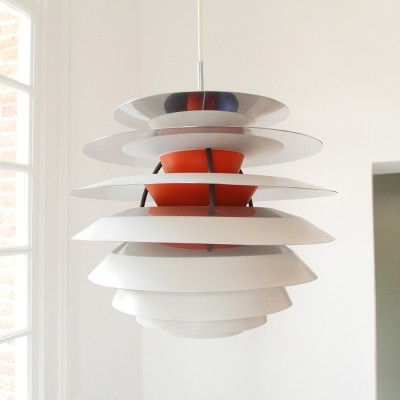 Kontrast hanging lamp by Poul Henningsen for Louis Poulsen, 1950s