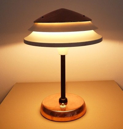 Zukov desk lamp, 1940s