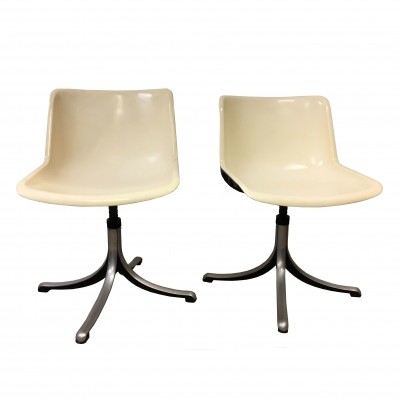 Pair of 'Modus' office chairs by Osvaldo Borsani for Tecno, 1975
