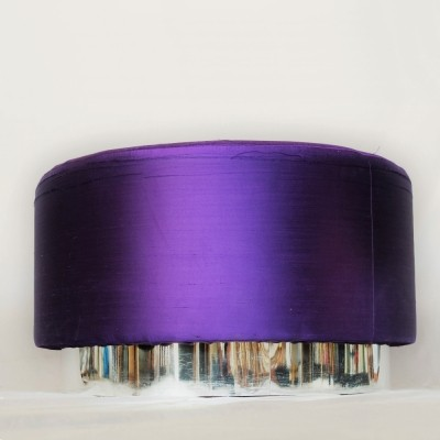 Violet Italian Pouf from a Gucci shop, 1970s