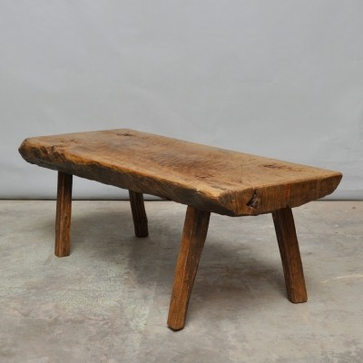 Bench from the thirties by unknown designer for unknown producer