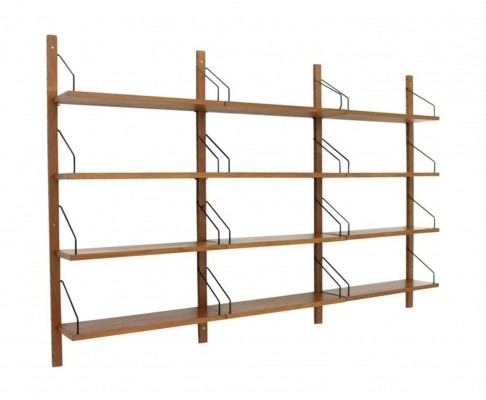 Royal wall unit from the sixties by Poul Cadovius for Cado