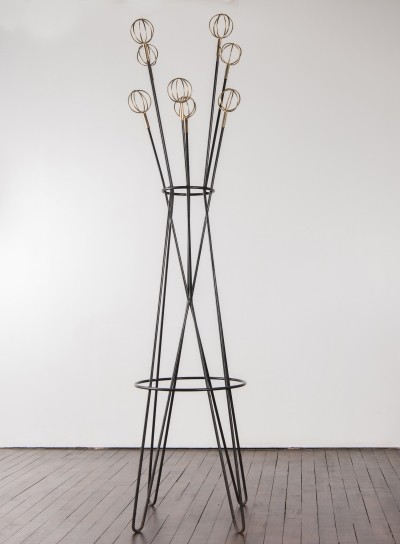 Géo Astrolabe coat rack by Roger Feraud, 1950s