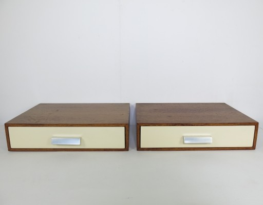 Set of 2 Drawer wall units from the sixties by Cees Braakman for Pastoe