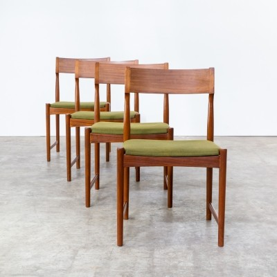 Set of 4 dinner chairs from the sixties by Severin Hansen for Bovenkamp