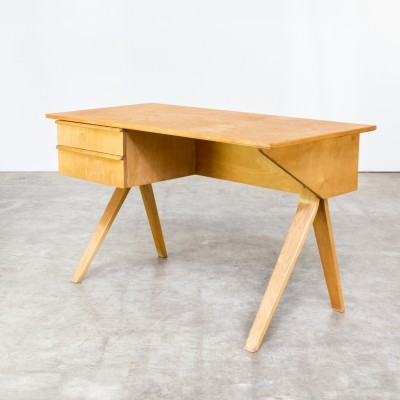 EB02 writing desk from the fifties by Cees Braakman for Pastoe
