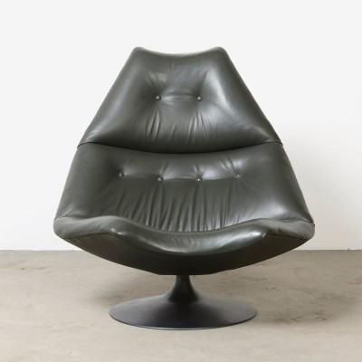 F590 lounge chair by Geoffrey Harcourt for Artifort, 1960s