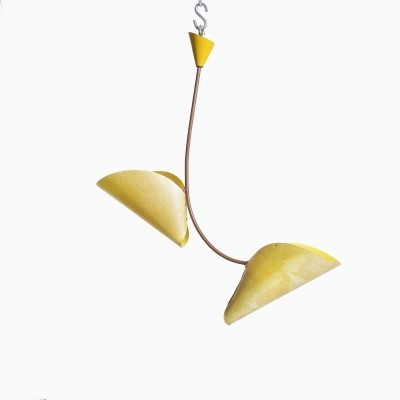 Hanging lamp from the fifties by unknown designer for Napako