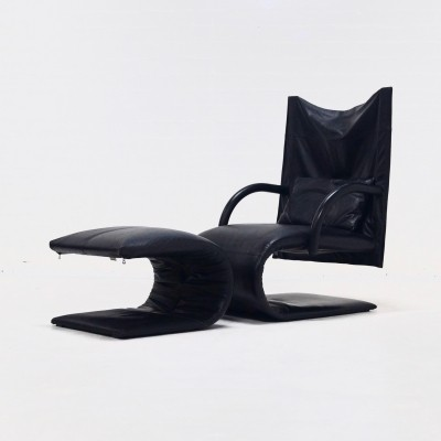 ZEN lounge chair from the eighties by Claude Brisson for Ligne Roset