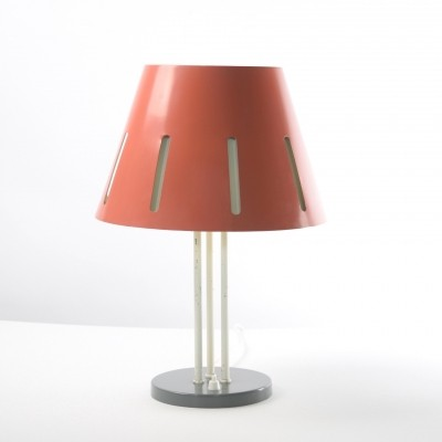 Zonneserie No. 9 desk lamp by H. Busquet for Hala Zeist, 1950s