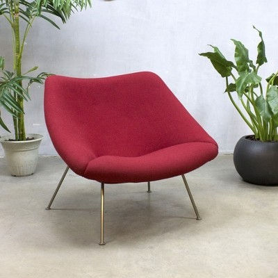 Oyster F157 lounge chair by Pierre Paulin for Artifort, 1950s