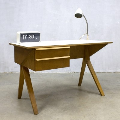 EB02 writing desk from the sixties by Cees Braakman for Pastoe