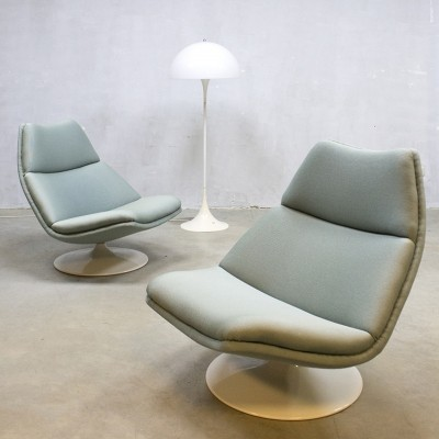 2 x lounge chair by Geoffrey Harcourt for Artifort, 1950s