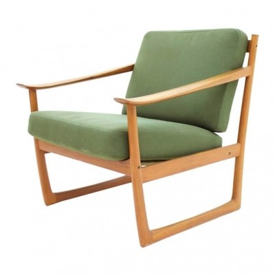 FD 130 arm chair by Peter Hvidt & Orla Mølgaard Nielsen for France & Son, 1960s