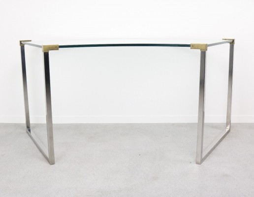 Curved T53 writing desk by Peter Ghyczy for Ghyczy, 1970s