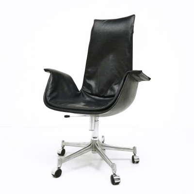 FK 6725 office chair by Preben Fabricius & Jørgen Kastholm for Alfred Kill, 1960s