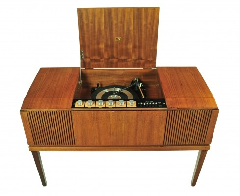 His Masters Voice cabinet, 1970s