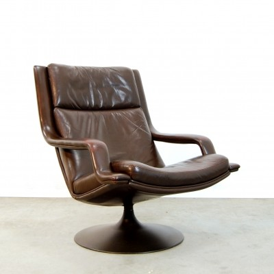 F140 lounge chair by Geoffrey Harcourt for Artifort, 1970s