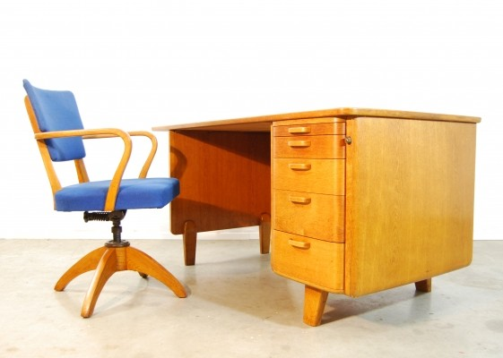 Vintage writing desk, 1940s