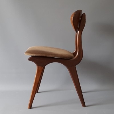 Dinner chair by Louis van Teeffelen for Webe, 1960s