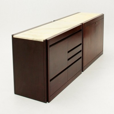 4D sideboard by Angelo Mangiarotti for Molteni, 1960s