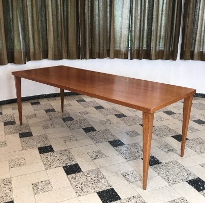 Dining table by Nanna Ditzel for Poul Kolds Savværk, 1950s