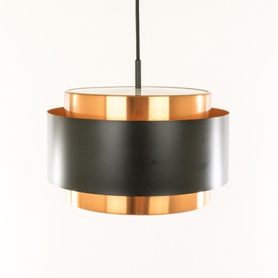 2 x Saturn hanging lamp by Jo Hammerborg for Fog & Mørup, 1960s