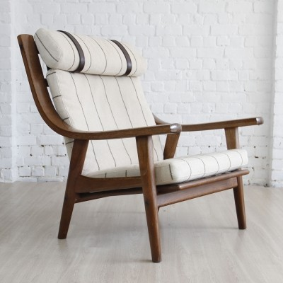 Model GE-530 lounge chair by Hans Wegner, 1960s