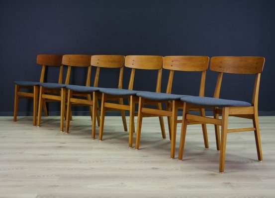Set of 6 Farstrup dinner chairs, 1970s