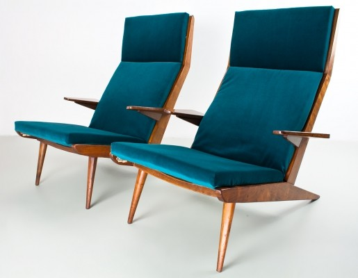 2 x lounge chair by Rob Parry for De Ster Gelderland, 1960s