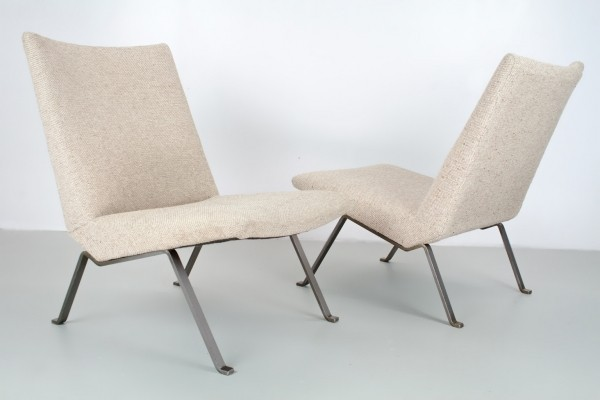 Pair of lounge chairs by K. Oberman for De Ster Gelderland, 1950s